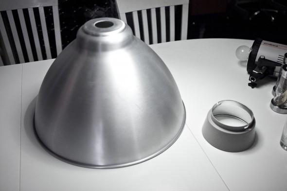 DIY Beauty Dish: Ikea lampe skærm & elinchrom reflektor