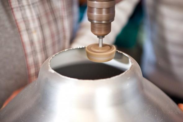 DIY Beauty Dish: Slibning af skarpe kanter