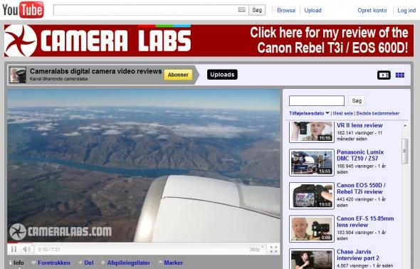 Cameralabs - Digital Camera Video Reviews @ Youtube