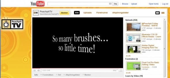 Peach Pit TV @ Youtube