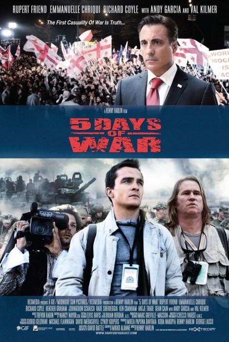 5 Days of War - film plakat