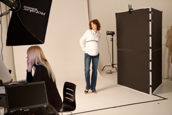 Behind the Scenes - Mama-Licious - Mode for gravide
