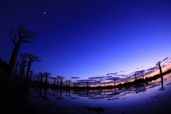 Aften landskab taget med Canon EOS 6D DSLR
