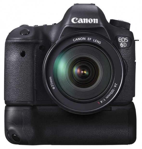 Canon EOS 6D - DSLR with Grip