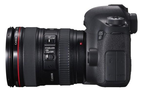Canon EOS 6D - DSLR fra siden