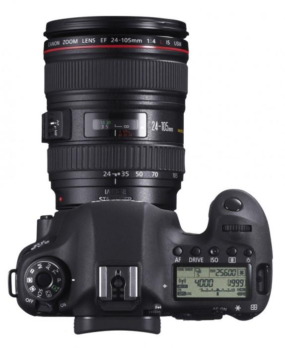 Canon EOS 6D - DSLR Oppe fra