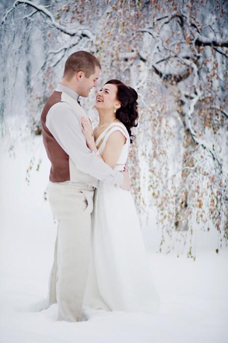Vinter Bryllupsbilleder - by http://www.derekandanna.com/