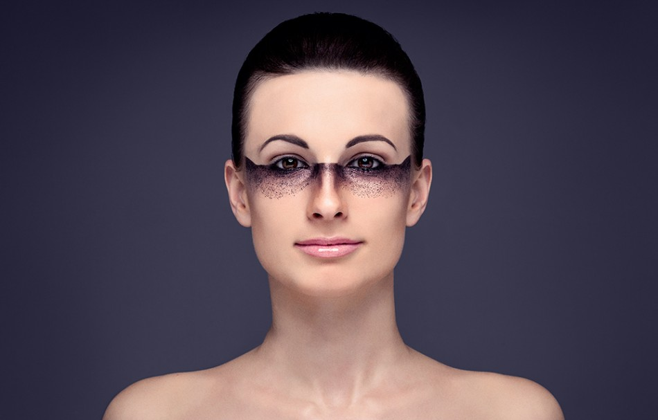 Beauty portræt af model Sara