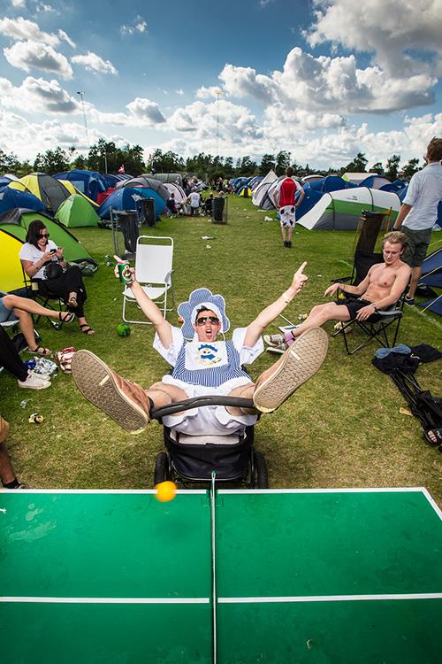 Smukfest - super stemning på camping området