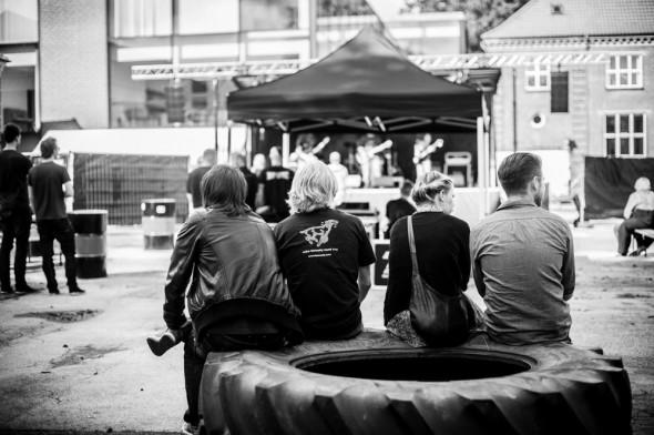 Publikum fotograferet til Koncert i Herning