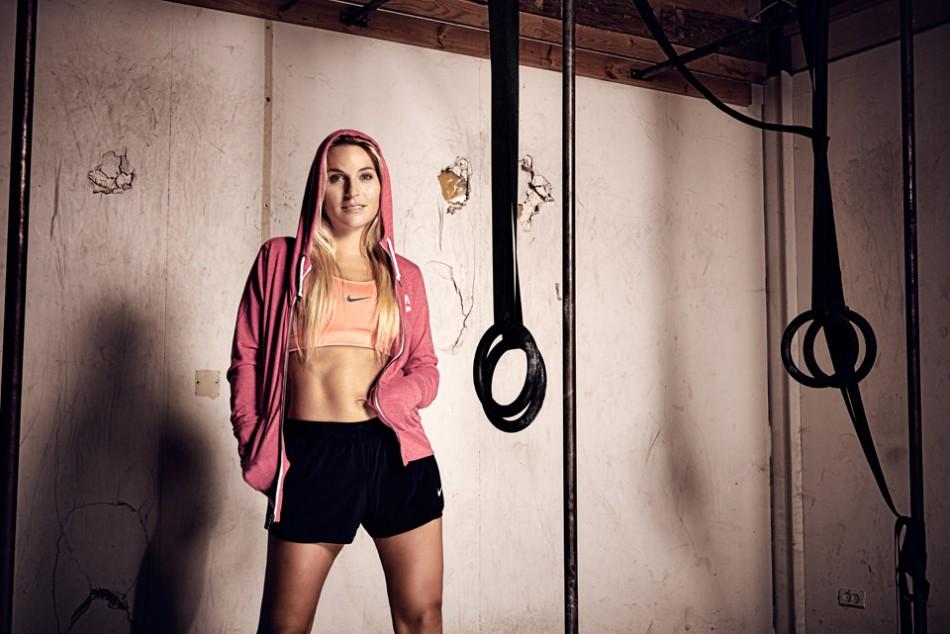 Fitness portræt taget i Herning Crossfit