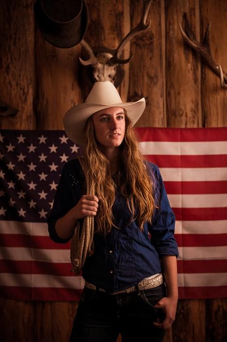 Portræt billede af Cowgirl