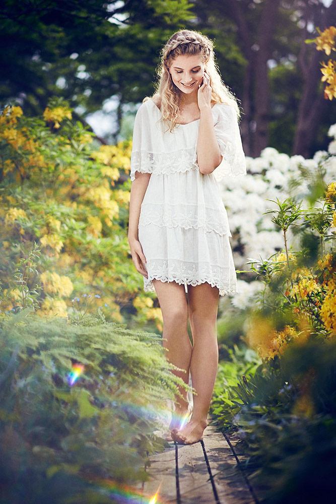 Model billede af Herning fotograf Theis