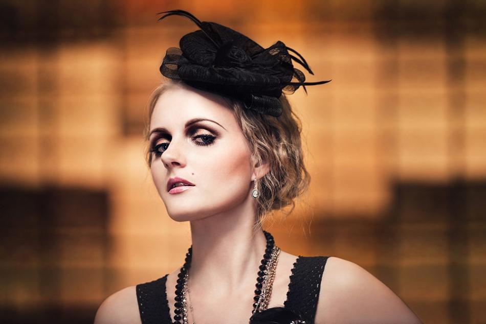 Beauty model af Herning fotograf Theis