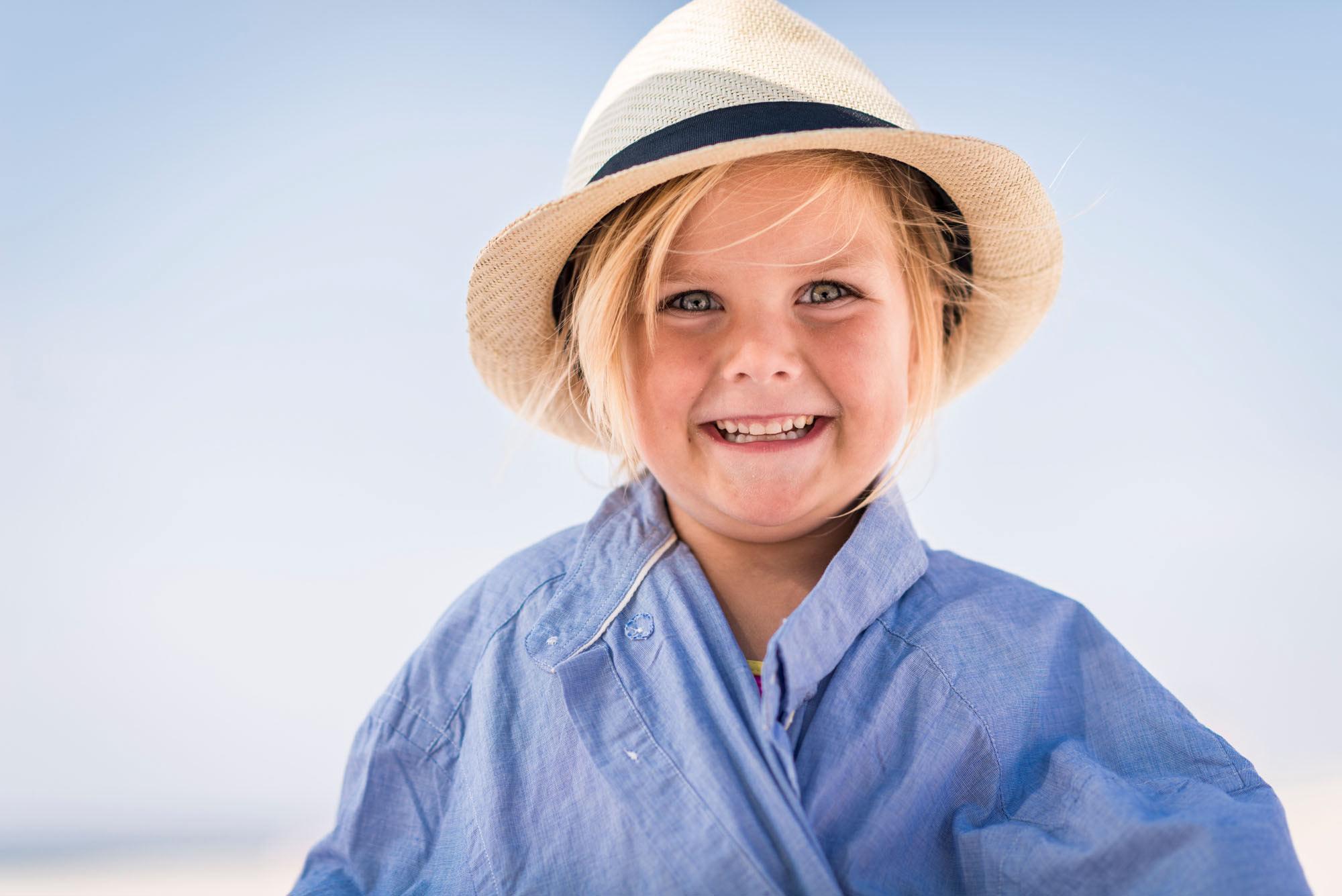 Portræt - Ferie - Børn - Fotograf