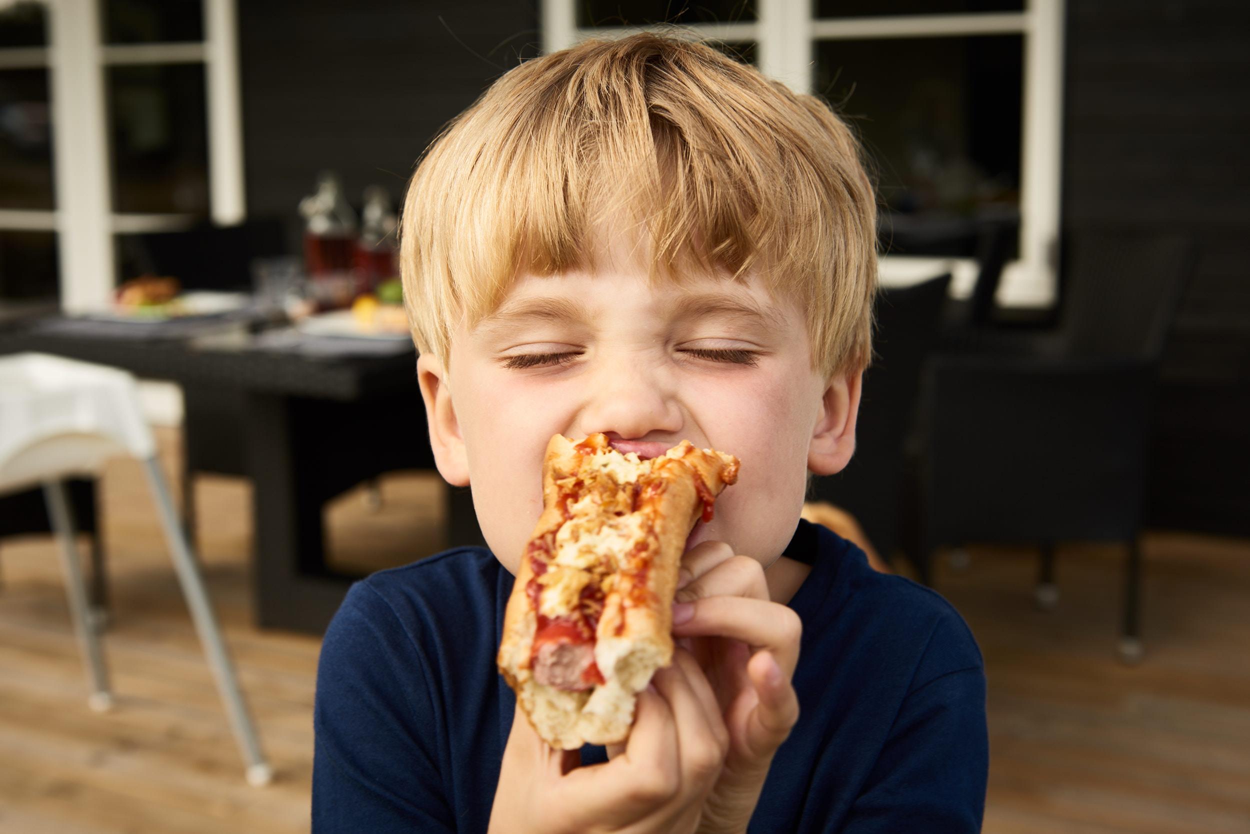 Ferie - Sommerhus - Dreng - Hot Dog