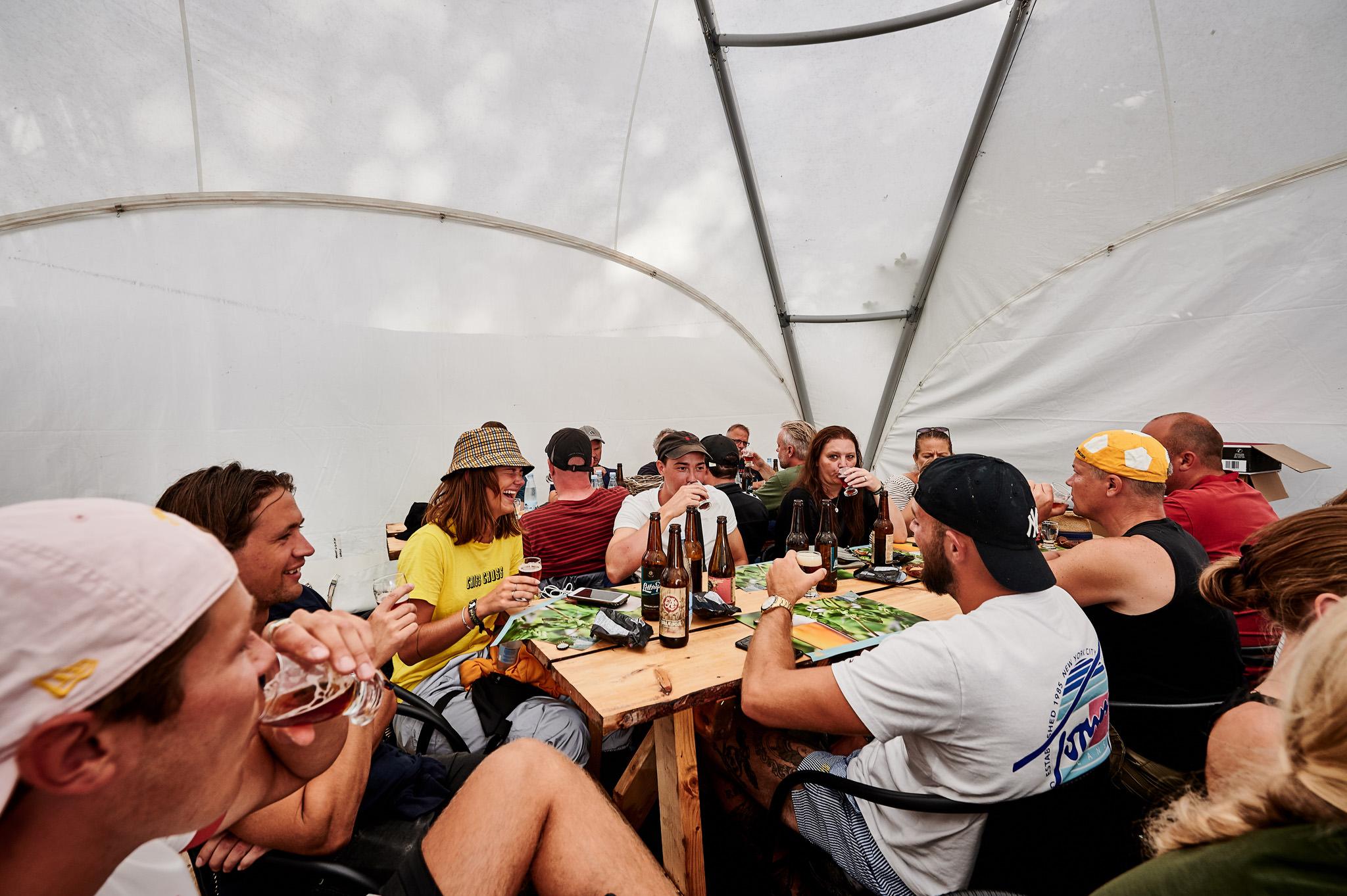 Glade deltager til Øl smagning Smukfest 2019