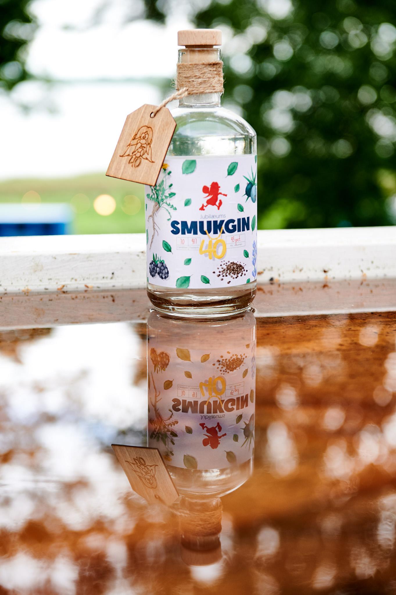 Smukgin 40 års - Jubilæums Gin fra Smukfest