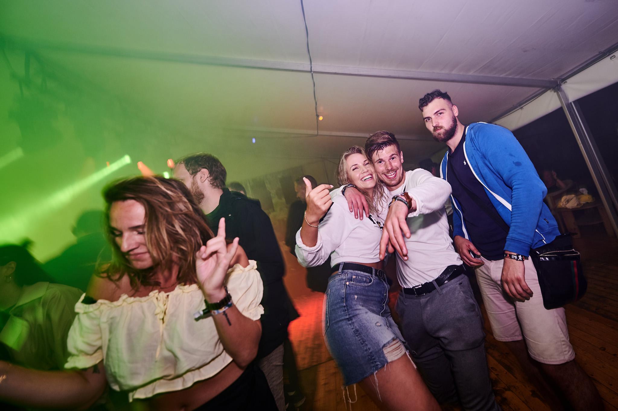 Dansegulvet i Vores Bar