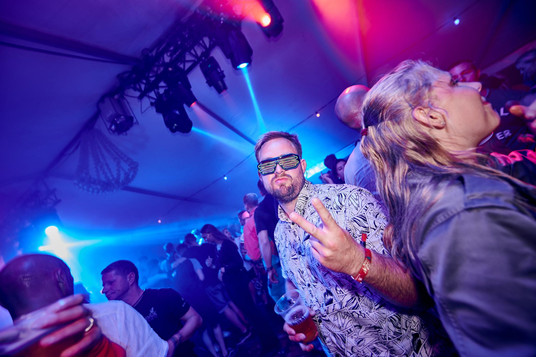 Portrætfoto af de sejeste brille på Smukfest
