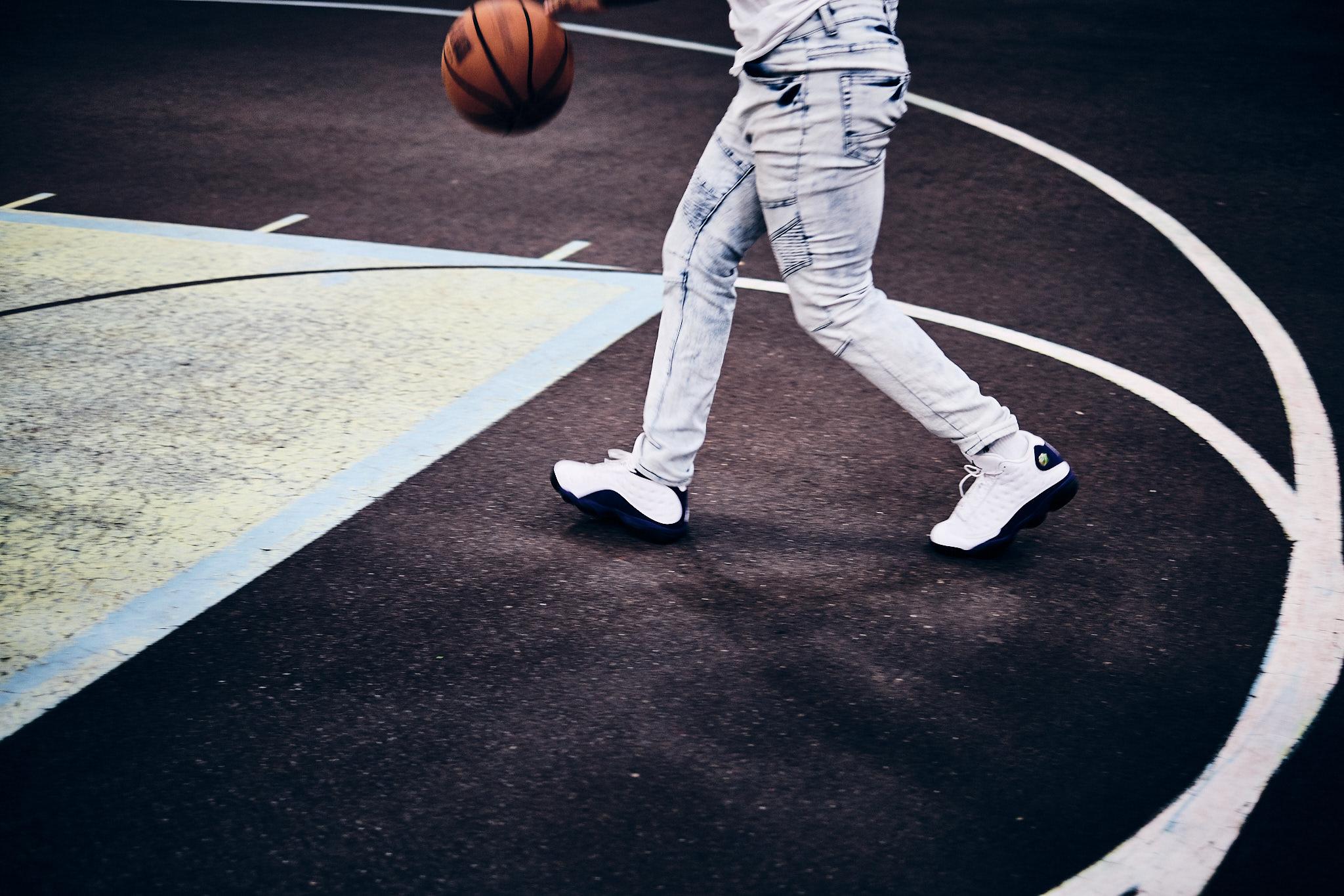 Street basketball i New York