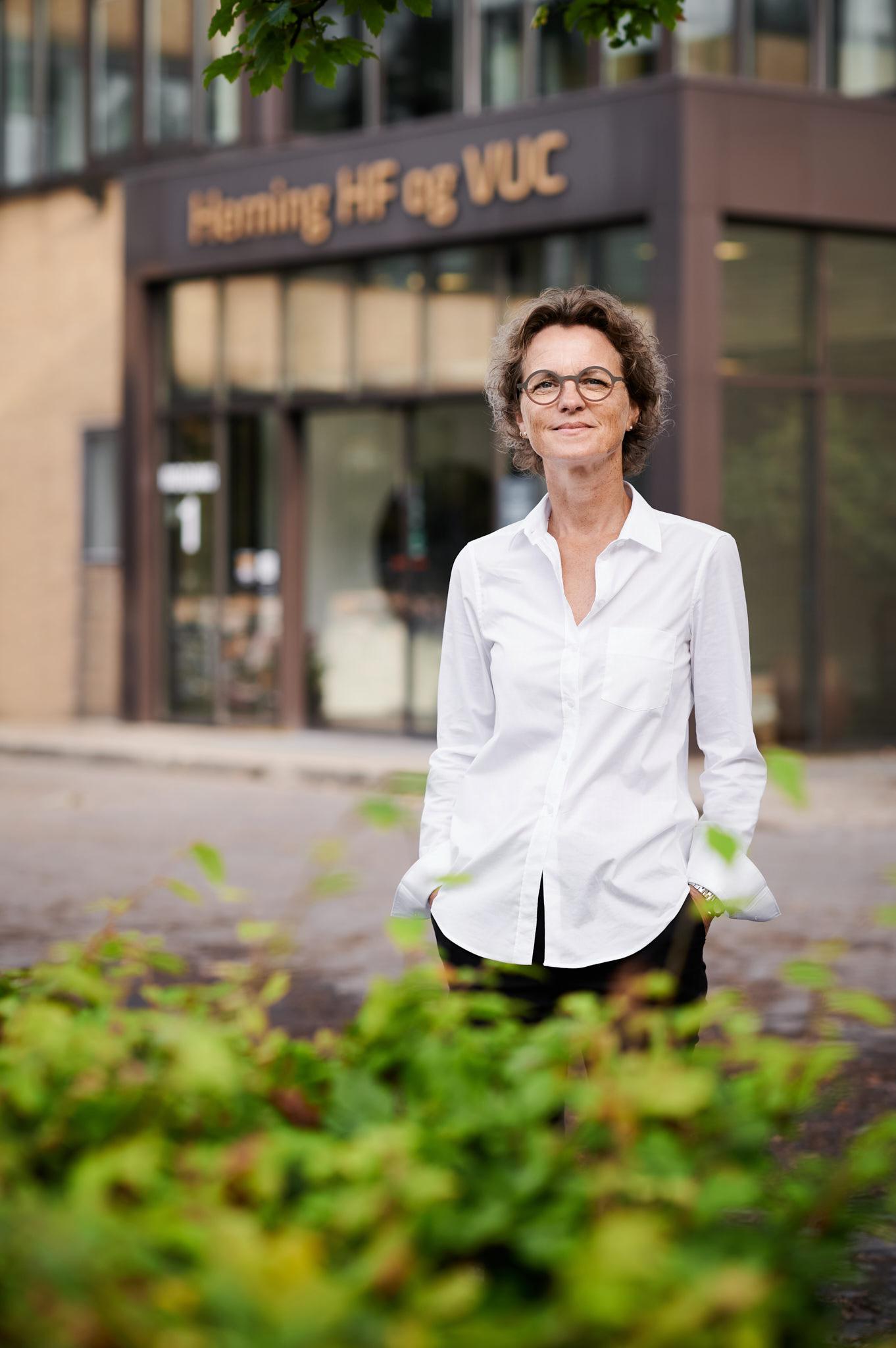 Fotograf Herning Portræt af Rektor