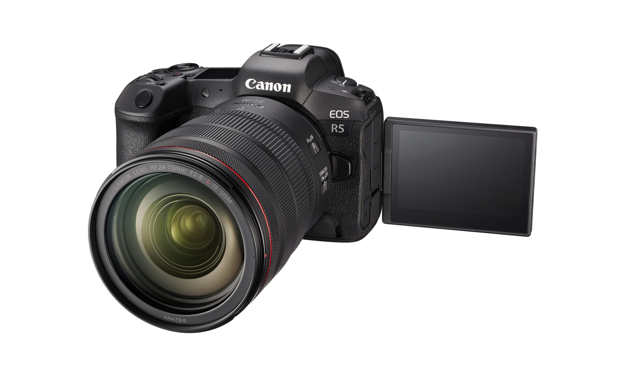Canon EOS R5 - Flip - Vippe skærm