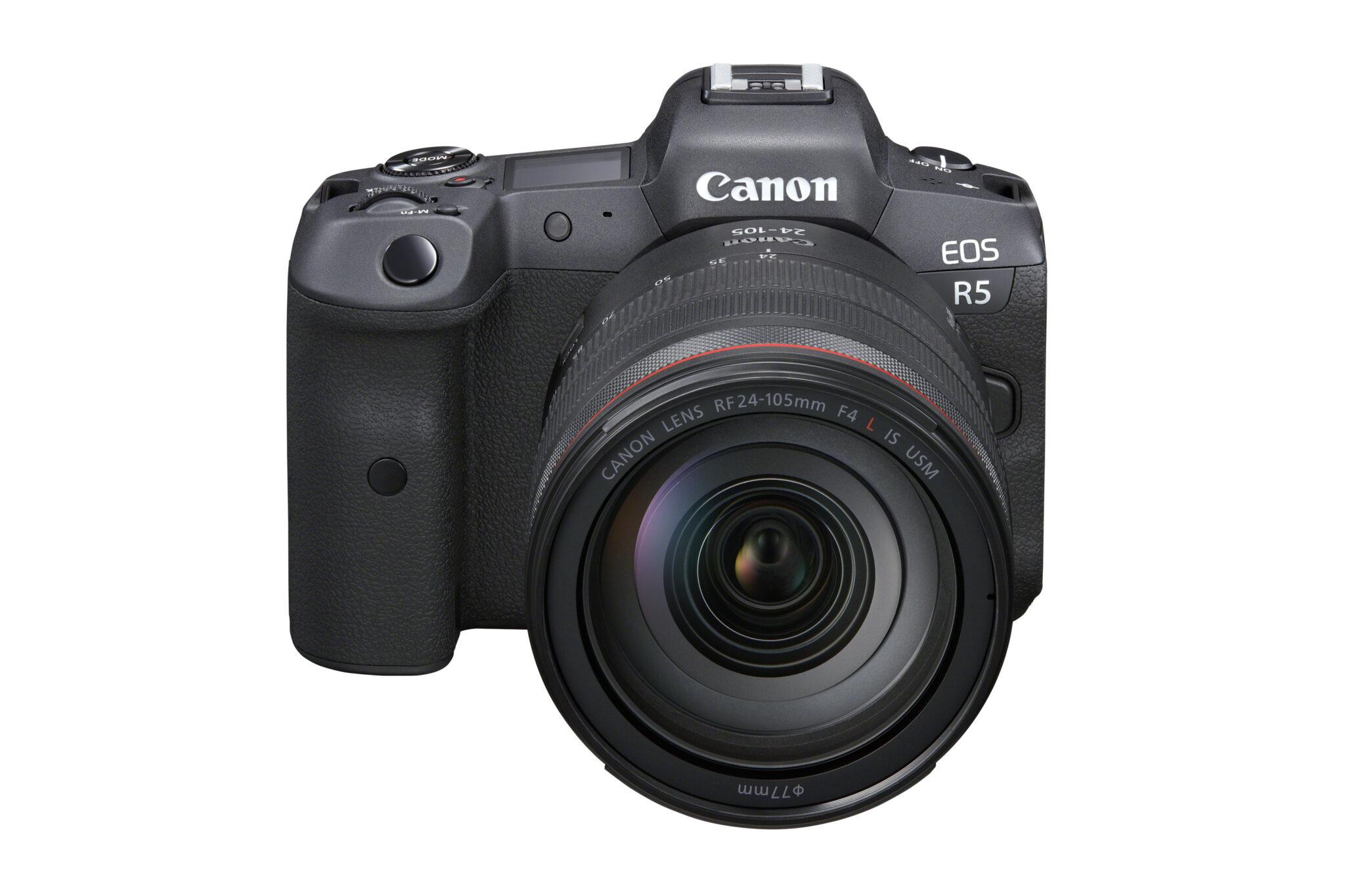 Canon EOS R5 - Forfra