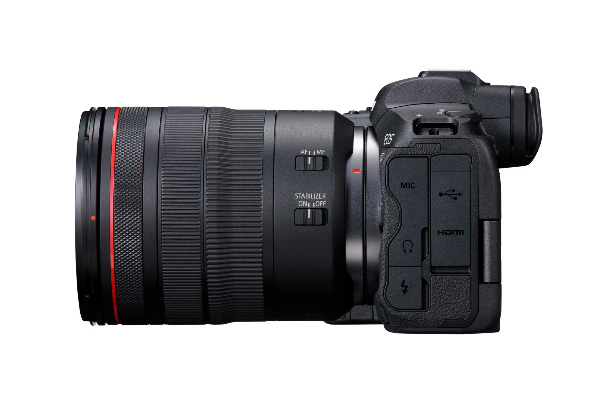 Canon EOS R5 - Fra siden