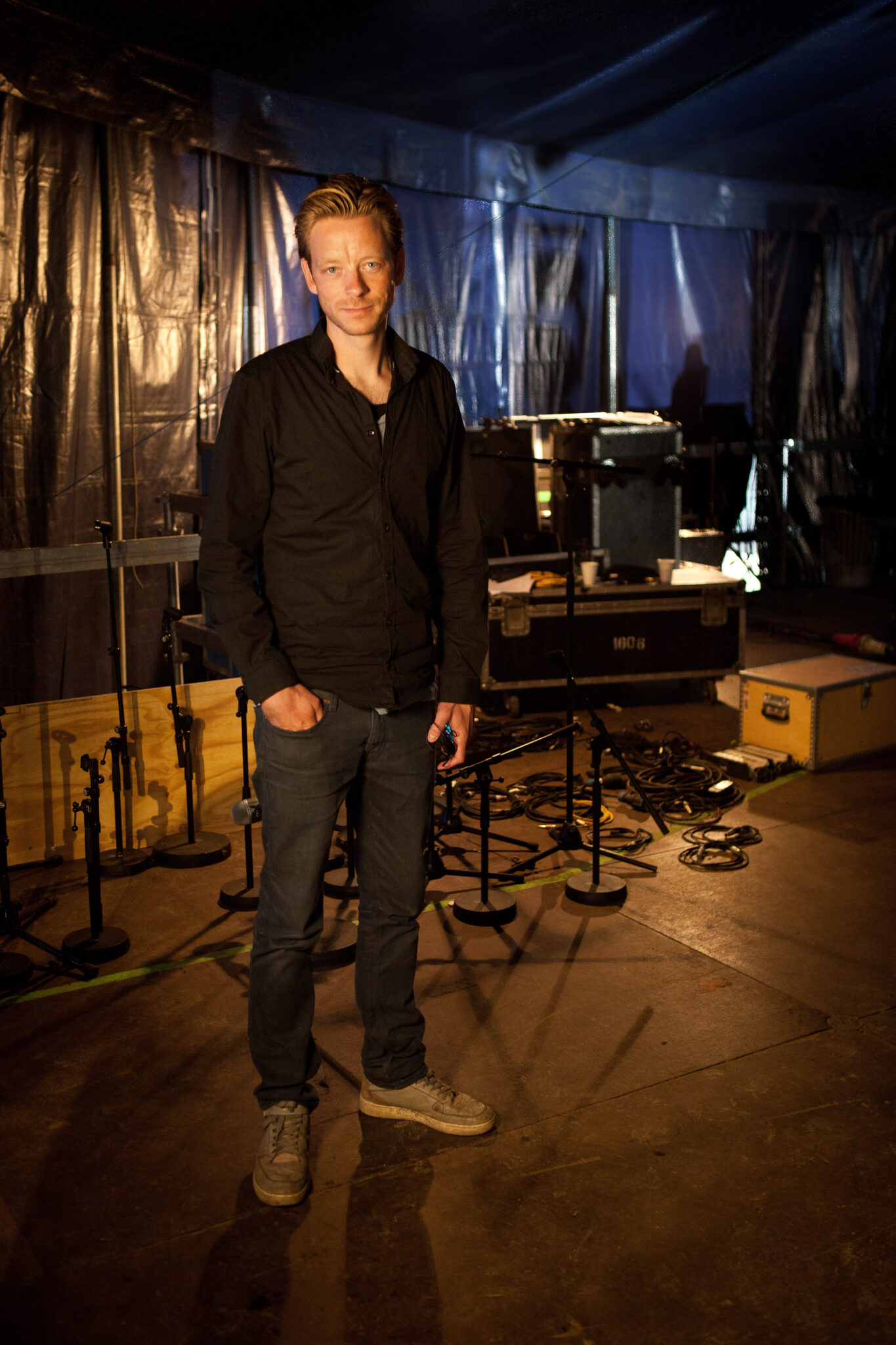 Portræt af Smukfest Chef Claus Visby