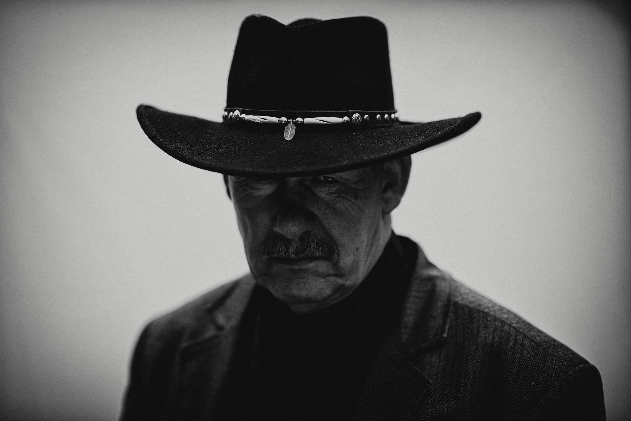 Cowboy portræt