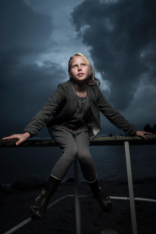 Børne portræt fotograf Herning