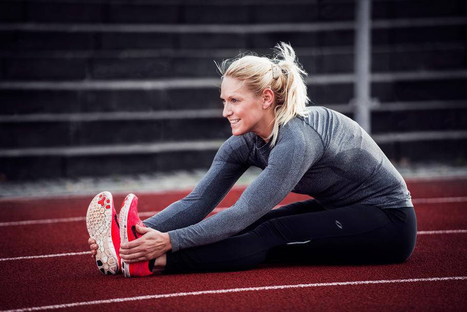Portræt af fitness træner